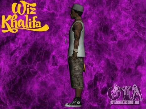 Wiz Khalifa para GTA San Andreas terceira tela