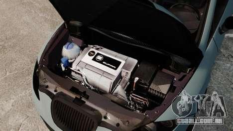 Seat Leon Gtaciyiz para GTA 4 vista interior