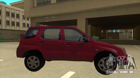Suzuki Ignis para GTA San Andreas traseira esquerda vista