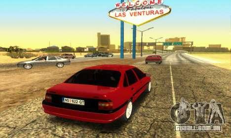 Opel Vectra A para GTA San Andreas vista direita