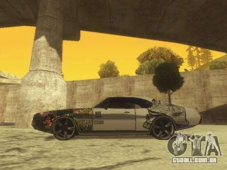 Clover Modified para GTA San Andreas esquerda vista