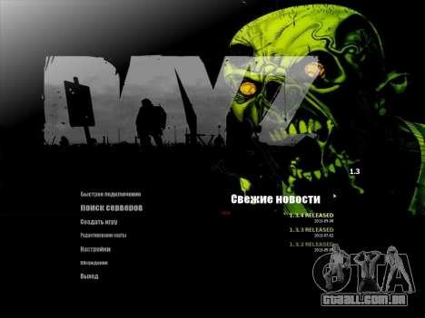 O menu de metrô em Russo para GTA San Andreas