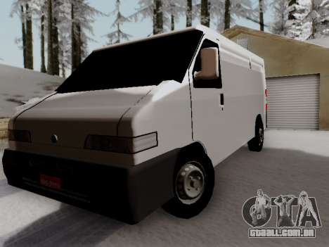Fiat Ducato Cargo para GTA San Andreas