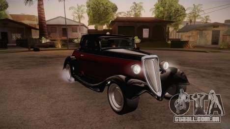 Hot Rod Extreme para GTA San Andreas vista traseira