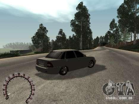 VAZ-2170 para GTA San Andreas vista direita