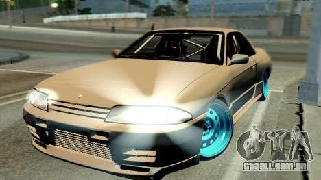 Nissan Skyline R32 Hellaflush para GTA San Andreas