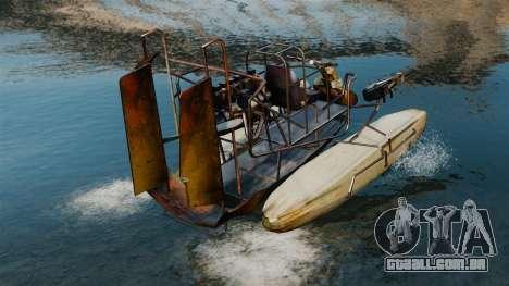 Barco do ar para GTA 4 traseira esquerda vista