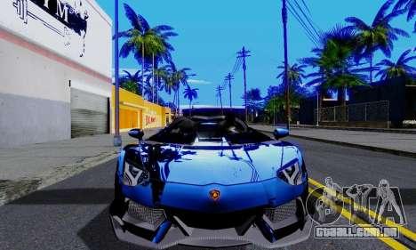 Realistic ENBSeries para GTA San Andreas terceira tela