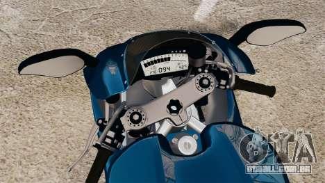 Ducati Desmosedici RR 2012 para GTA 4 vista direita