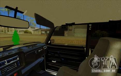 VAZ 2107 para o motor de GTA San Andreas