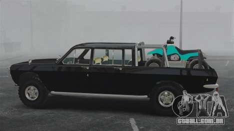 GAZ 2402-4 x 4 pick-up para GTA 4 esquerda vista