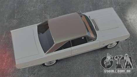 Dodge Coronet 440 1967 para GTA 4 vista direita