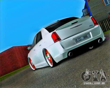 Chrysler 300C SRT-8 MANSORY_CLUB para GTA San Andreas traseira esquerda vista