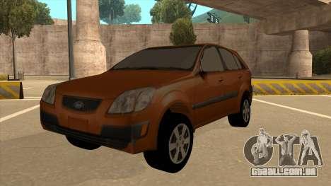 KIA RIO II 5 DOOR para GTA San Andreas