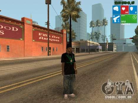 Nova traficante Afro para GTA San Andreas