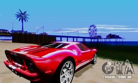 Realistic ENBSeries para GTA San Andreas oitavo tela