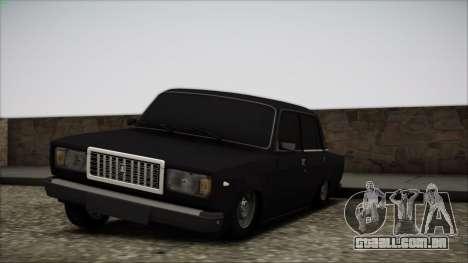 Vaz-2107 para vista lateral GTA San Andreas