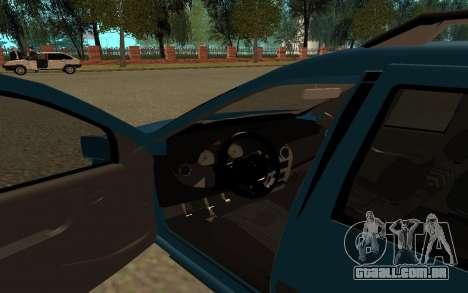 Lada Largus para GTA San Andreas vista traseira