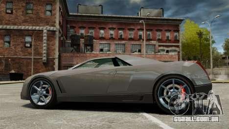 Cadillac Cien XV12 [EPM] para GTA 4 esquerda vista