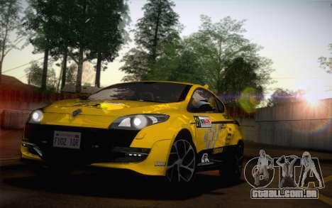 Renault Megane RS Tunable para GTA San Andreas vista direita