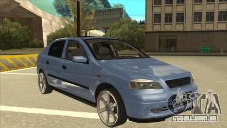 Opel Astra G Stock para GTA San Andreas esquerda vista