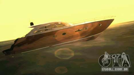 Cartagena Delight Luxury Yacht para GTA Vice City