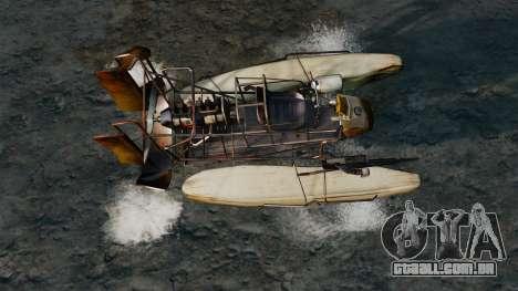 Barco do ar para GTA 4 vista direita