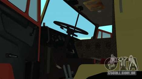 Luzes de perigo KAMAZ-4310 para GTA San Andreas vista direita