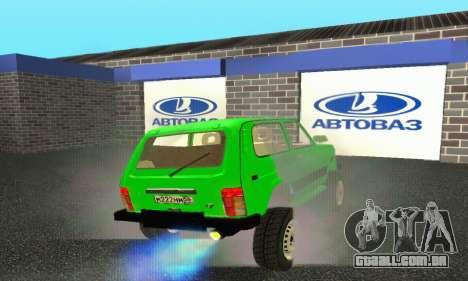 Nova garagem em Doherty para GTA San Andreas quinto tela