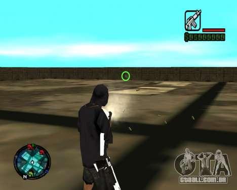 Cleo Gun for SA:MP (dgun) para GTA San Andreas sexta tela