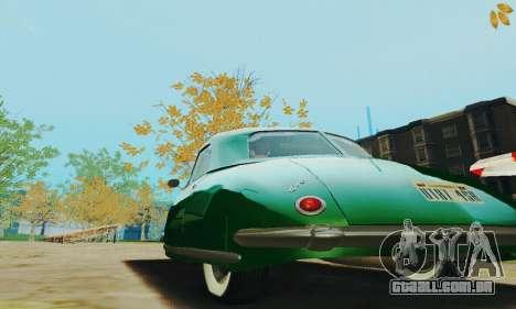 Davis Divan 1948 para GTA San Andreas vista traseira