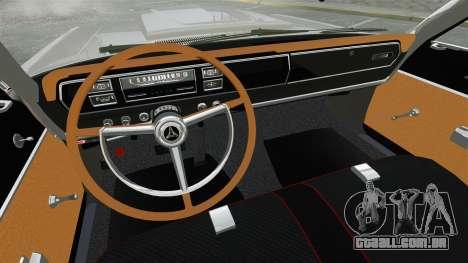 Dodge Coronet 440 1967 para GTA 4 vista lateral