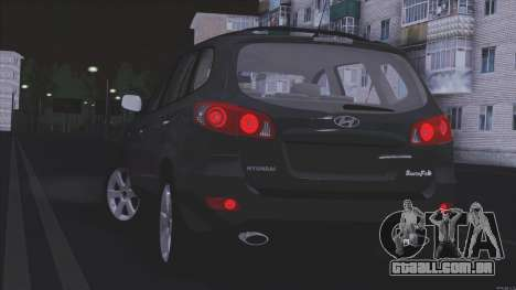 Hyundai Santa Fe para GTA San Andreas esquerda vista