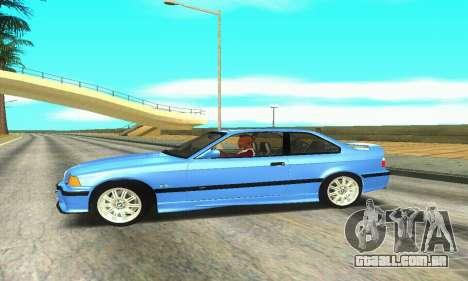 BMW M3 (E36) para GTA San Andreas esquerda vista