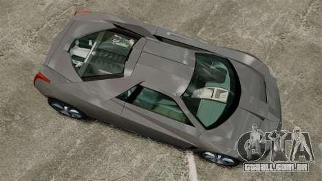 Cadillac Cien XV12 [EPM] para GTA 4 vista direita