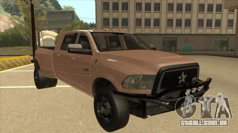 Dodge Ram [Johan] para GTA San Andreas esquerda vista