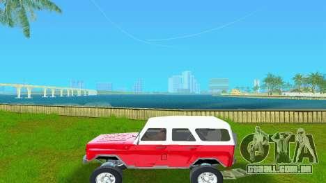 UAZ 3151 para GTA Vice City vista direita