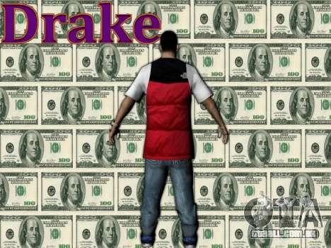 Drake para GTA San Andreas segunda tela