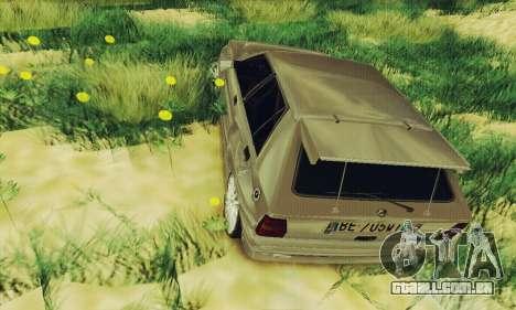 Lancia Delta HF Integrale para GTA San Andreas vista traseira