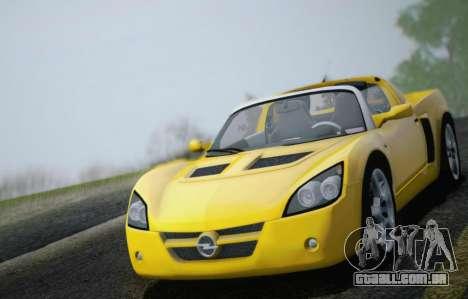 Opel Speedster Turbo 2004 para o motor de GTA San Andreas