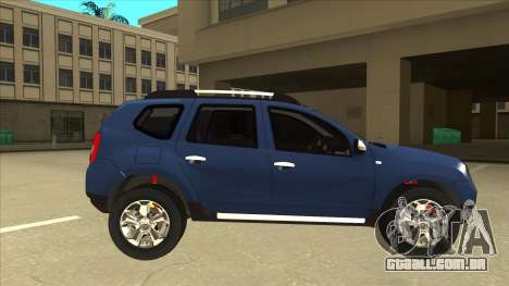 Dacia Duster 2014 para GTA San Andreas traseira esquerda vista