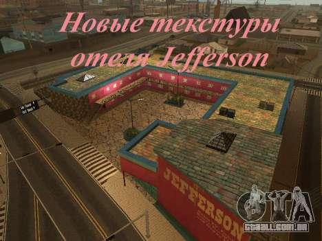 Novas texturas em Jefferson para GTA San Andreas