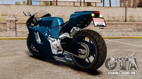 Ducati Desmosedici RR 2012 para GTA 4 esquerda vista