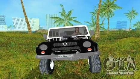 UAZ 3151 para GTA Vice City deixou vista