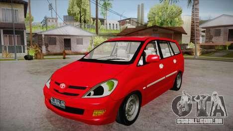 Toyota Kijang Innova 2.0 G v3.0 Steel Rims para GTA San Andreas