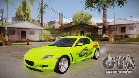 Mazda RX8 Tunnable para GTA San Andreas