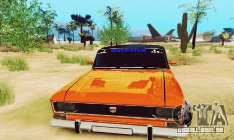 2140 Moskvich para GTA San Andreas vista interior