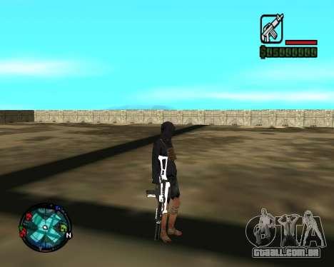 Cleo Gun for SA:MP (dgun) para GTA San Andreas quinto tela