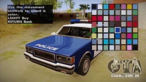 All Cars Radio & Repair Activator para GTA San Andreas terceira tela