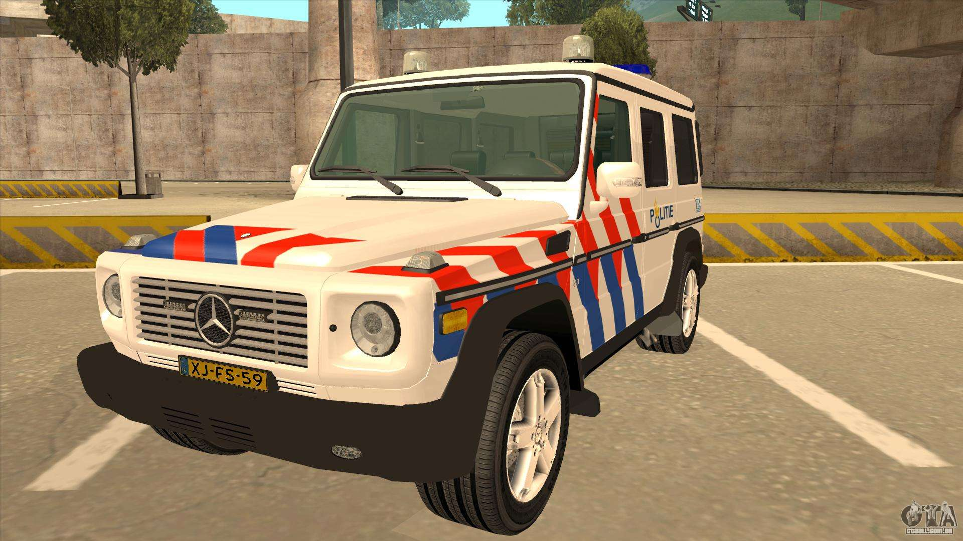 European emergency mercedes benz g 2008 para gta san andreas for Mercedes benz emergency